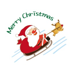 Merry Christmas Stickers Vol3