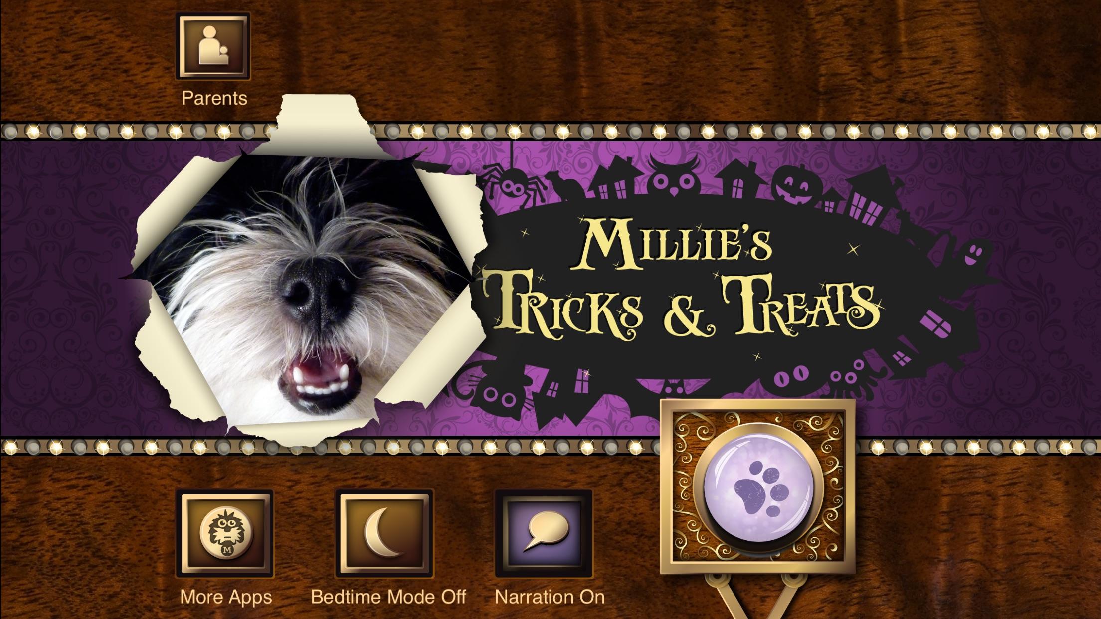 Millie's Book of Tricks and Treats Screenshot