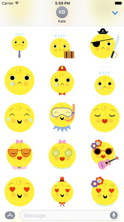 Emoji Pals - Skye stickers screenshot-2