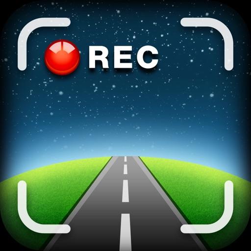 Car Camera DVR. HD Dashcam pro GPS Blackbox app logo