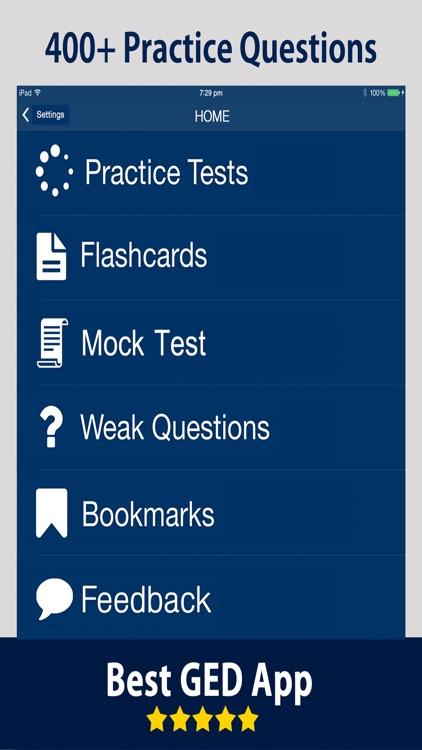 GED Exam Prep 2017 Practice Test & Flashcards