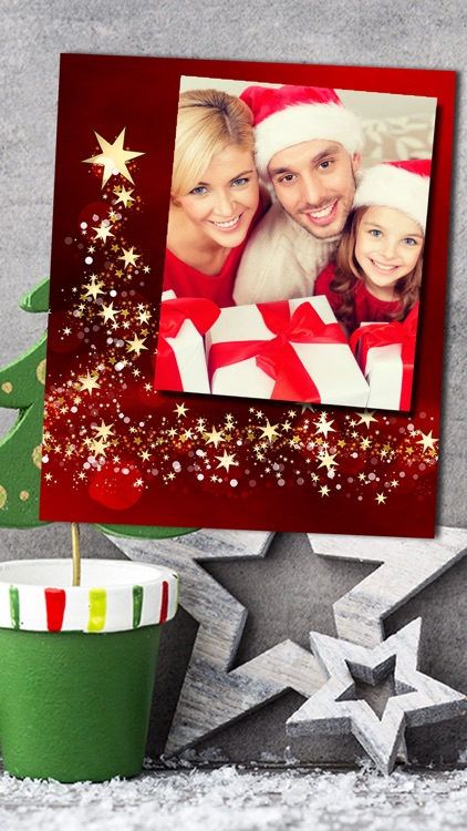 Christmas Photo Frames Album & Collage 2016 – Pro screenshot-4