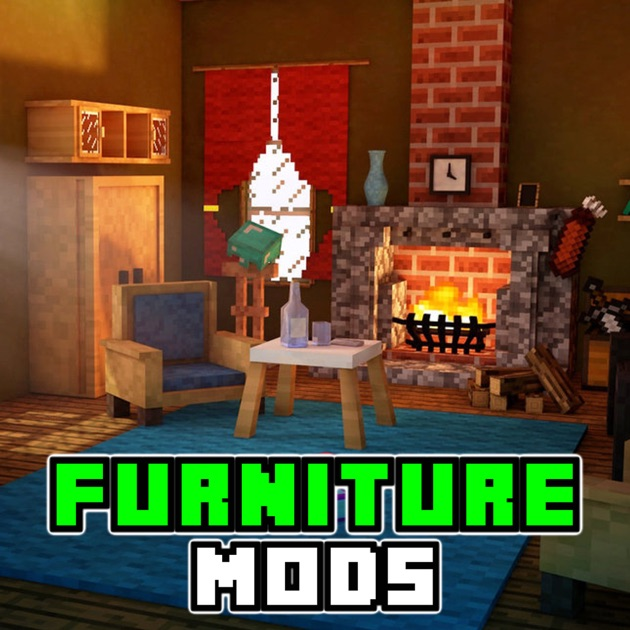 Furniture edition mods guide for minecraft pc game on the for Furniture u save a lot