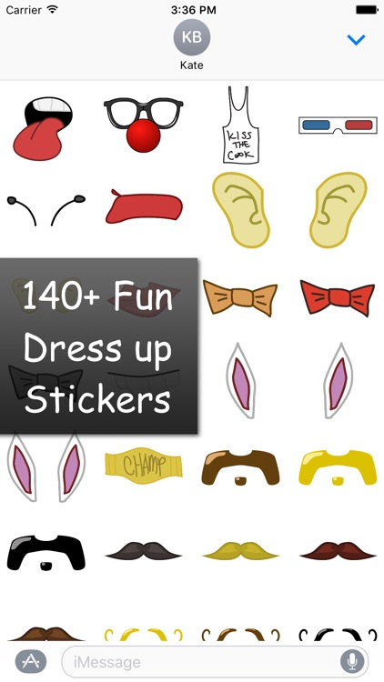 Dress Up Stickers!