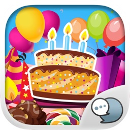 Birthday Emoji Stickers Keyboard Themes ChatStick