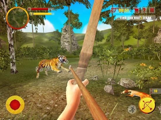 Джунгли охота Стрельба из лука Мастер - Лук и стре на iPad