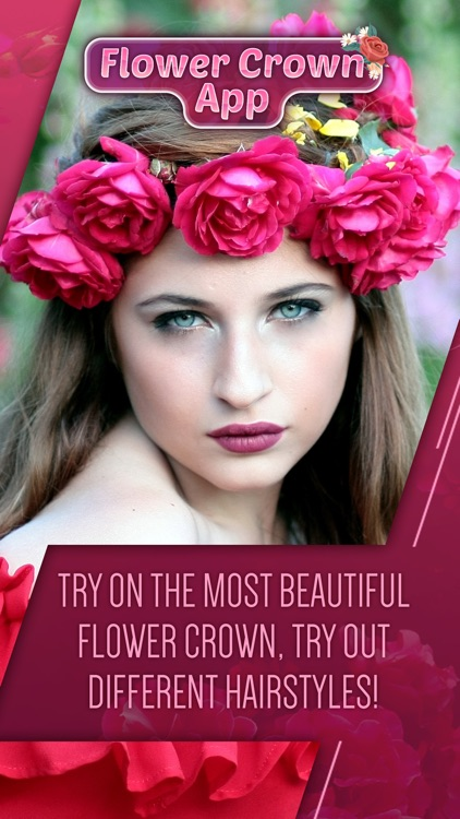 Flower Crown App Bride Fashion Floral Hairstyles