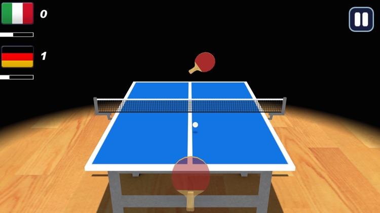 Table Tennis 3D !