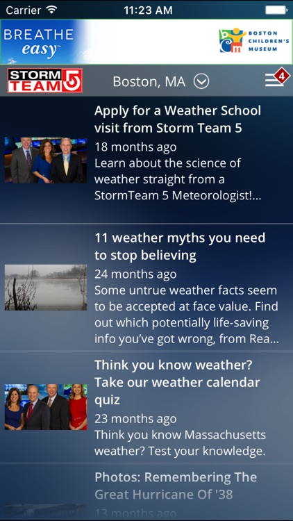 WCVB Boston Weather screenshot-3