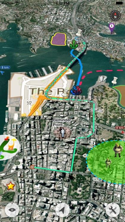 Map Plus (GIS Editor + Offline Map + GPS Recorder)