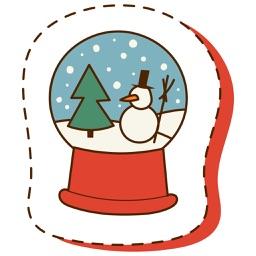 Christmas Stickers Pack 2 - Weihnachten - Noël