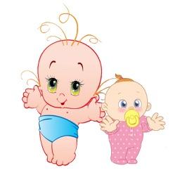 Baby Cute Sticker Pack 01