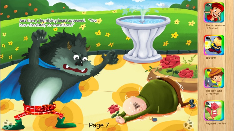 Beauty and the Beast - Bedtime Fairy Tale iBigToy screenshot-3