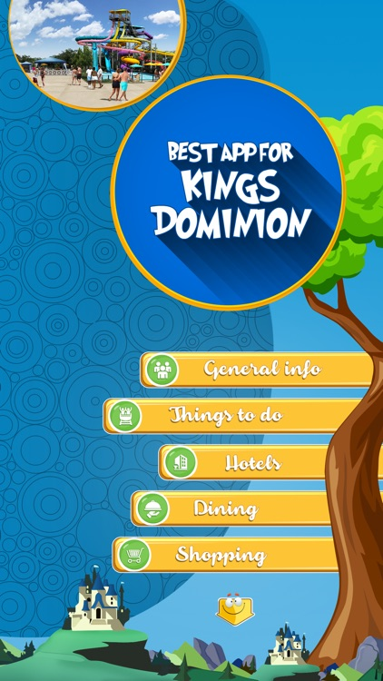 Best App for Kings Dominion screenshot-1
