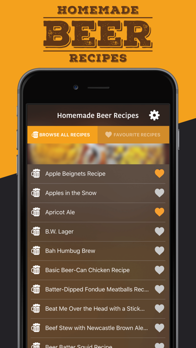 Homemade Beer Recipes screenshot two