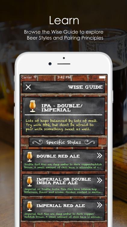 PairWise - Beer and Food Pairing screenshot-4