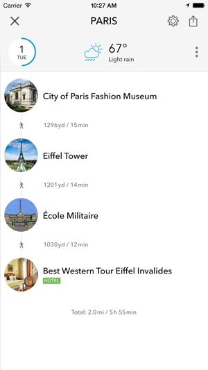 Paris Offline Map City Guide On The App Store