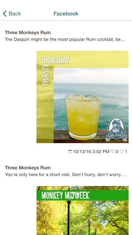 THREE MONKEYS RUM screenshot-3