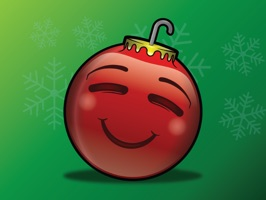 137 Christmas Emoji Ornament Stickers