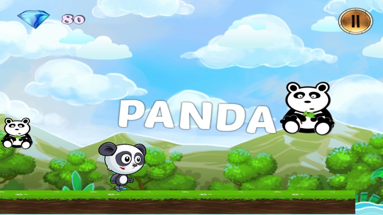 Panda ABC Running Adventure Game Free screenshot-3