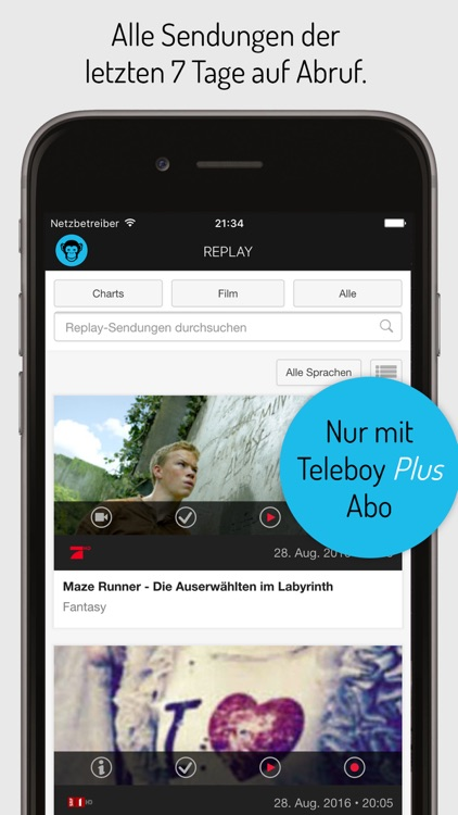 Teleboy TV screenshot-3