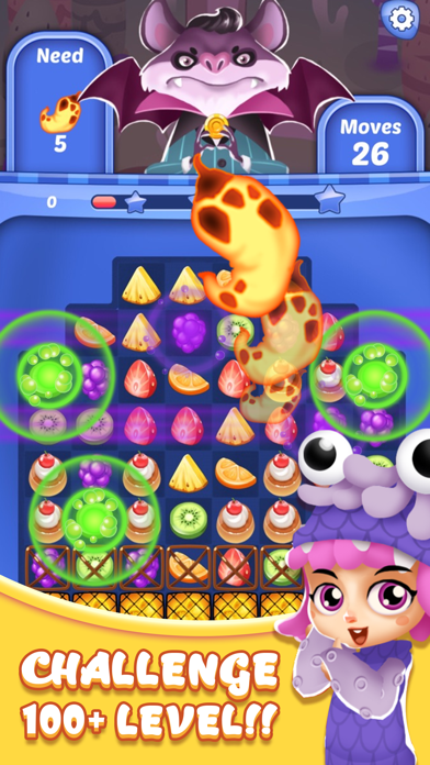 Candy Sweet Mania : Halloween Party screenshot two
