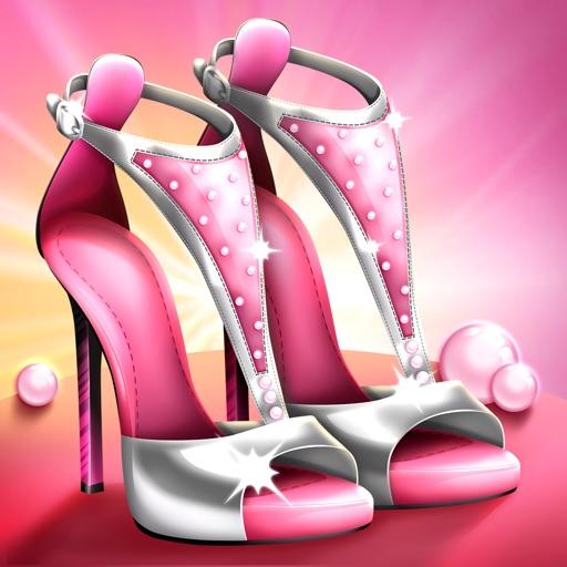 Высокие Каблуки Дизайн Игры – Обувь для Девочек