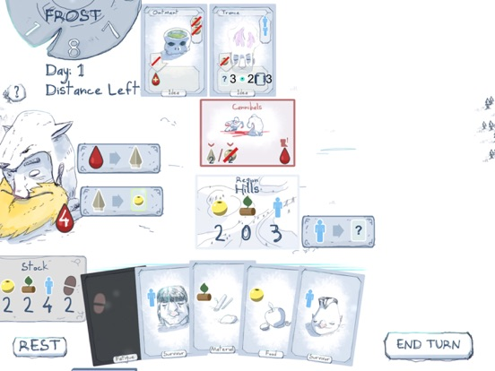 Frost - Survival card game Screenshots