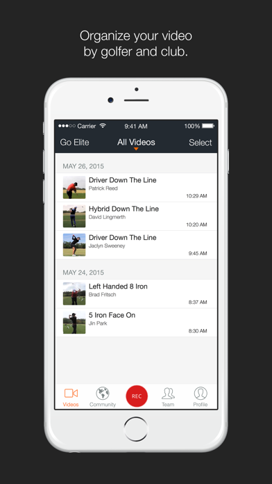 Download Hudl Technique Golf for Android