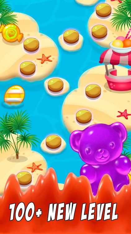 Candy Gummy Bears - For match 3 candy drop puzzle screenshot-3
