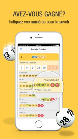 Thelotter Jouer A La Loterie Dans L App Store