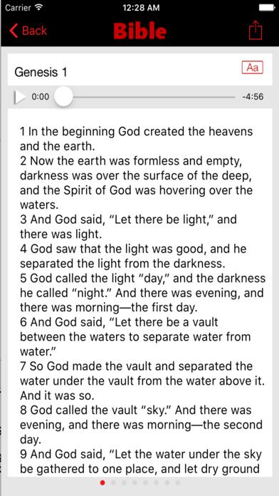 New International Version Bible (Audio) screenshot four