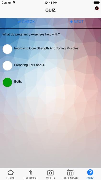 Exercise Labour Preparation screenshot-4