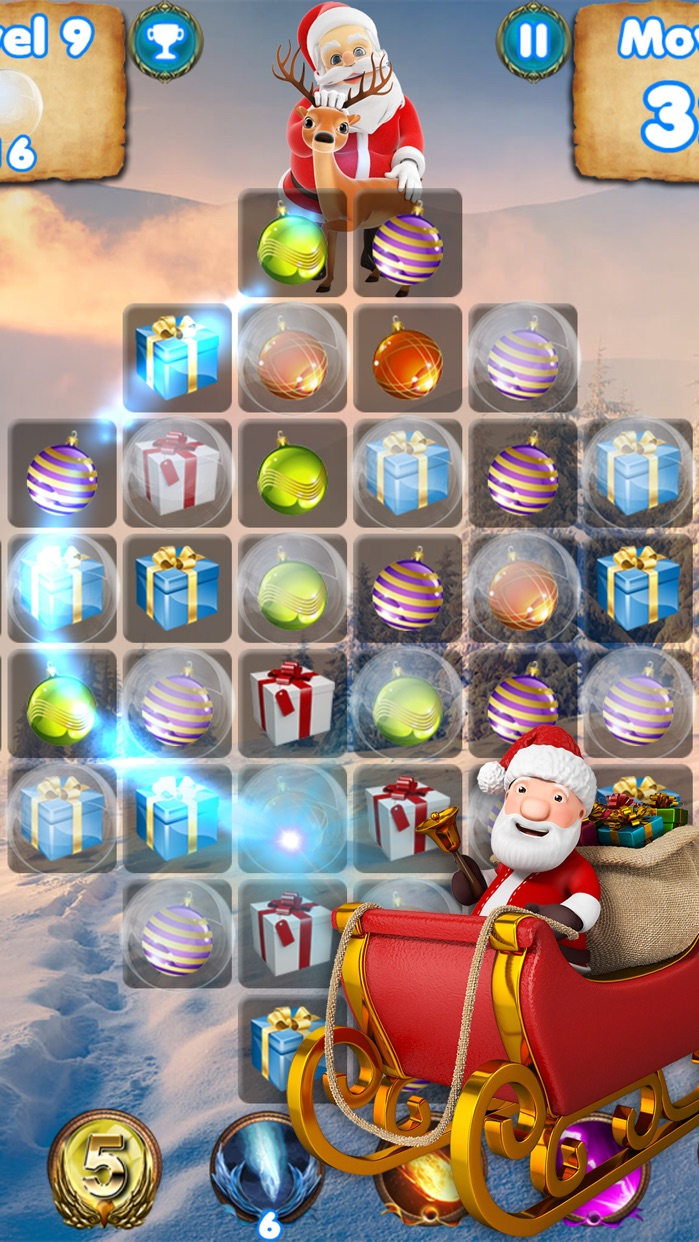 Santa Claus Calls You - 3D christmas games tracker Screenshot