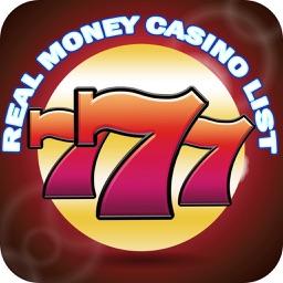 Real Money Casinos List