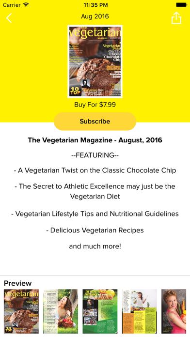 download The Vegetarian Magazine indir ücretsiz - windows 8 , 7 veya 10 and Mac Download now