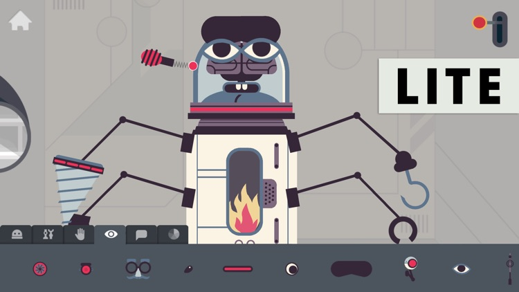 The Robot Factory by Tinybop Lite screenshot-0