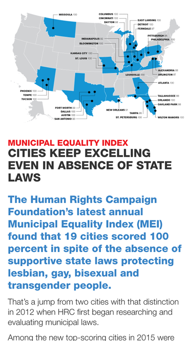 Human Rights Campaign Equality Magazine screenshot four