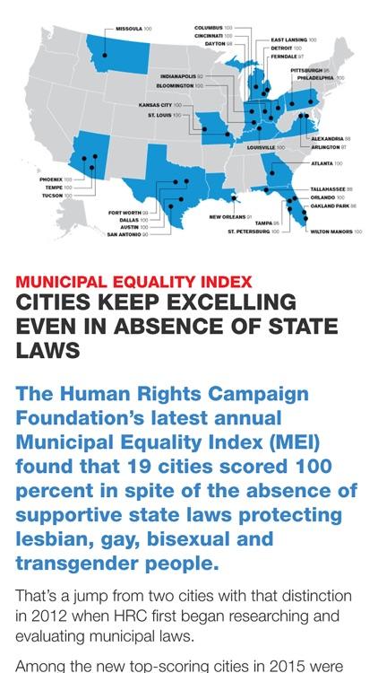 Human Rights Campaign Equality Magazine screenshot-3
