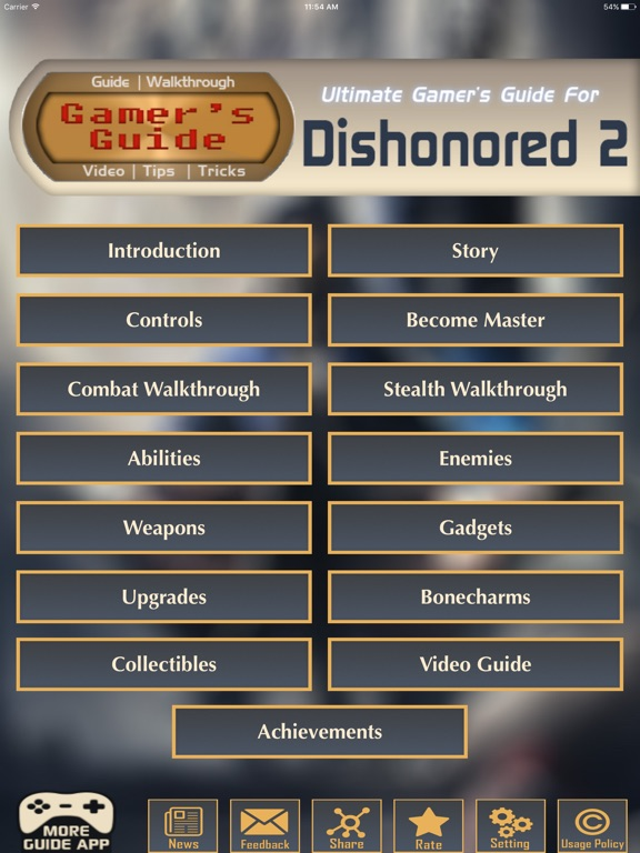 Gamer's Guide™ for Dishonored 2 - FAN GUIDE-ipad-0