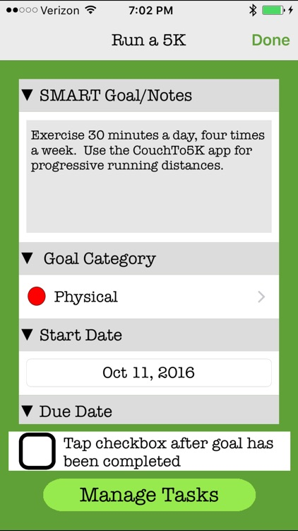 ReachMyGoals screenshot-2