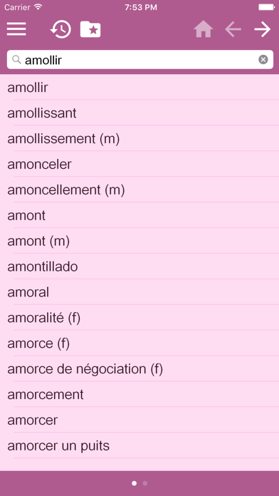 English - French Dictionary Free screenshot three