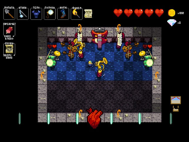 Crypt of the NecroDancer Screenshot