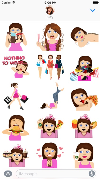 BFF Molly – Fun Girly Emoji Stickers for iMessage