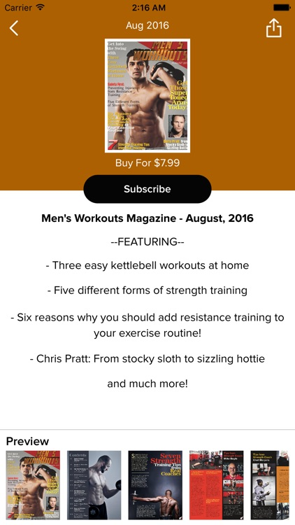 Men's Workouts Magazine screenshot-2