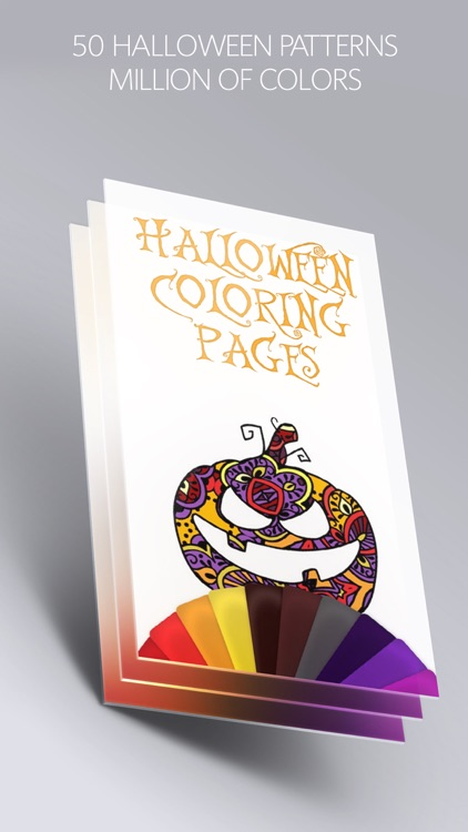 Halloween Coloring Pages Book with Scary Pictures