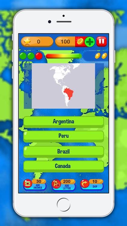 Geography Trivia Quiz – Best Free Education Game screenshot-3