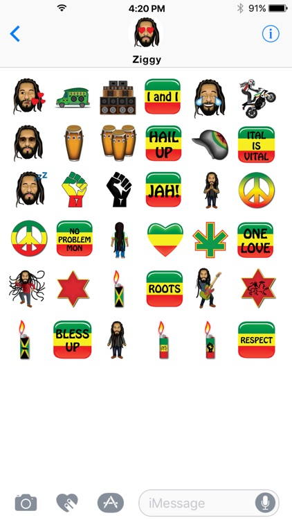 Ziggy Marley by Emoji Fame screenshot-1