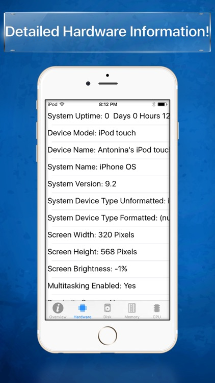 System Info - Device information screenshot-2