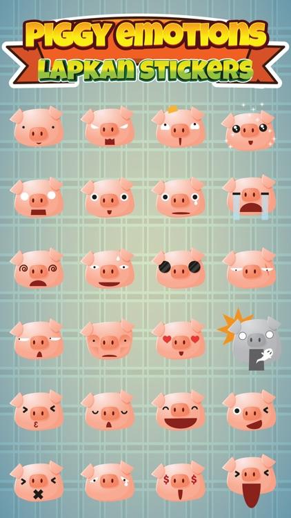 Sticker Me: Piggy Faces